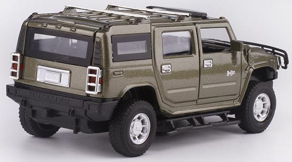 โมเดลรถเหล็ก โมเดลรถยนต์ Hummer h2 2