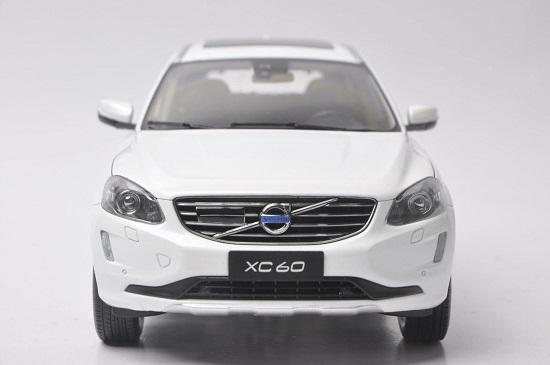 โมเดลรถ โมเดลรถเหล็ก โมเดลรถยนต์ Volvo XC60 white 4