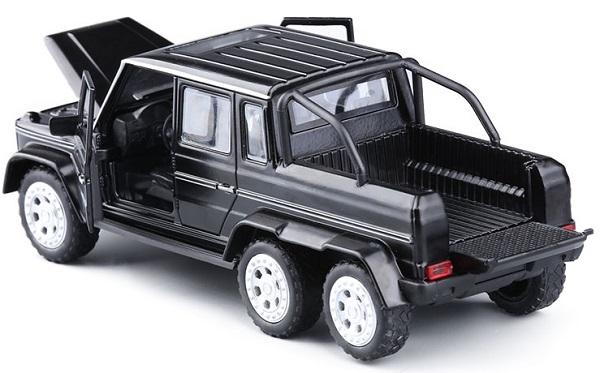โมเดลรถเหล็ก โมเดลรถยนต์ Benz G63 4