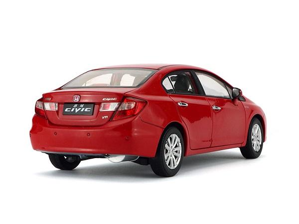 โมเดลรถ โมเดลรถเหล็ก โมเดลรถยนต์ Honda Civic 2009 9 gen red 2