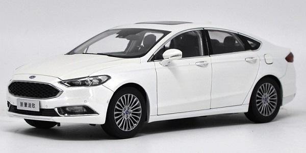 โมเดลรถ โมเดลรถเหล็ก โมเดลรถยนต์ Ford Mondeo 2017 ขาว 1