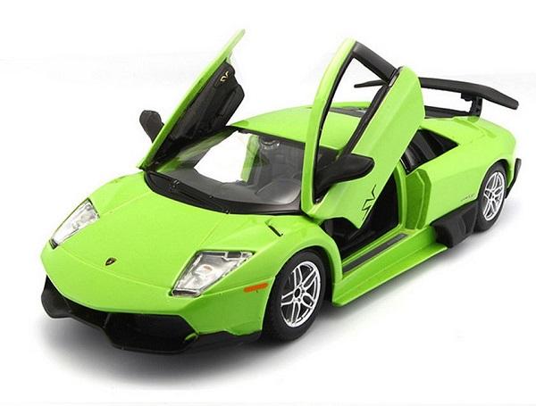 โมเดลรถประกอบ รถเหล็กประกอบ โมเดลรถเหล็กประกอบ, โมเดลรถยนต์ประกอบ Lambor Green 3