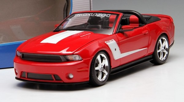 โมเดลรถ โมเดลรถเหล็ก โมเดลรถยนต์ Ford 2010 427R red 1