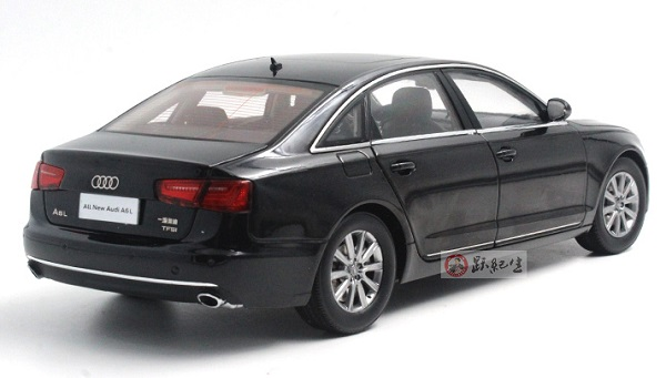 โมเดลรถ โมเดลรถเหล็ก โมเดลรถยนต์ audi A6L black 2