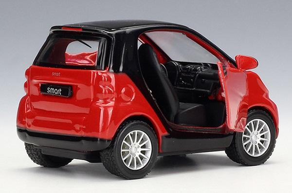 โมเดลรถเหล็ก โมเดลรถยนต์ Benz Smart 2 4