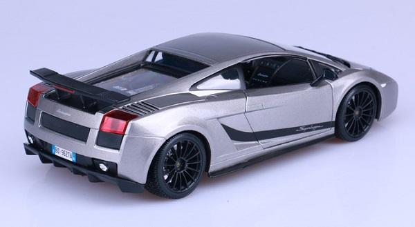 โมเดลรถ โมเดลรถเหล็ก โมเดลรถยนต์ Lamborghini gallardo superleggera 4