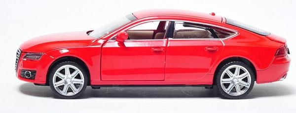 โมเดลรถเหล็ก โมเดลรถยนต์ Audi A7 3
