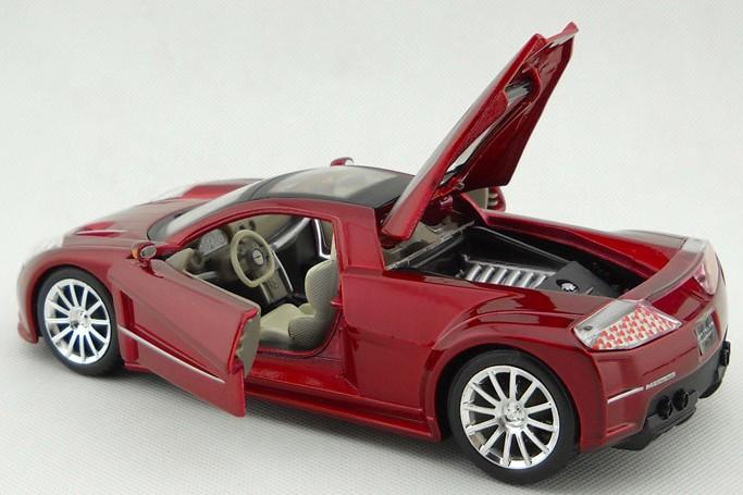 โมเดลรถ โมเดลรถยนต์ โมเดลรถเหล็ก Chrysler M3 แดง 6