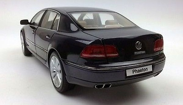 โมเดลรถ โมเดลรถเหล็ก โมเดลรถยนต์ VW phaeton black 2