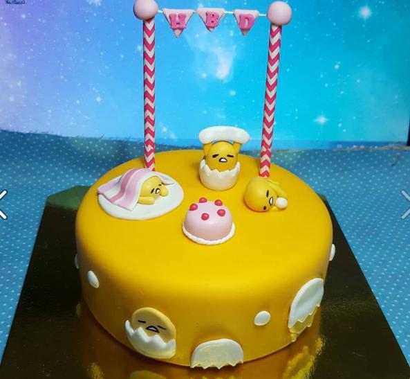 gudetama fake cake