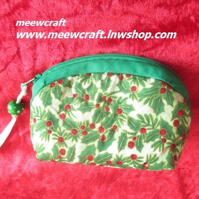 กระเป๋าสตางค์ ขนาดยาว13ซม.สูง10ซม. #055-006