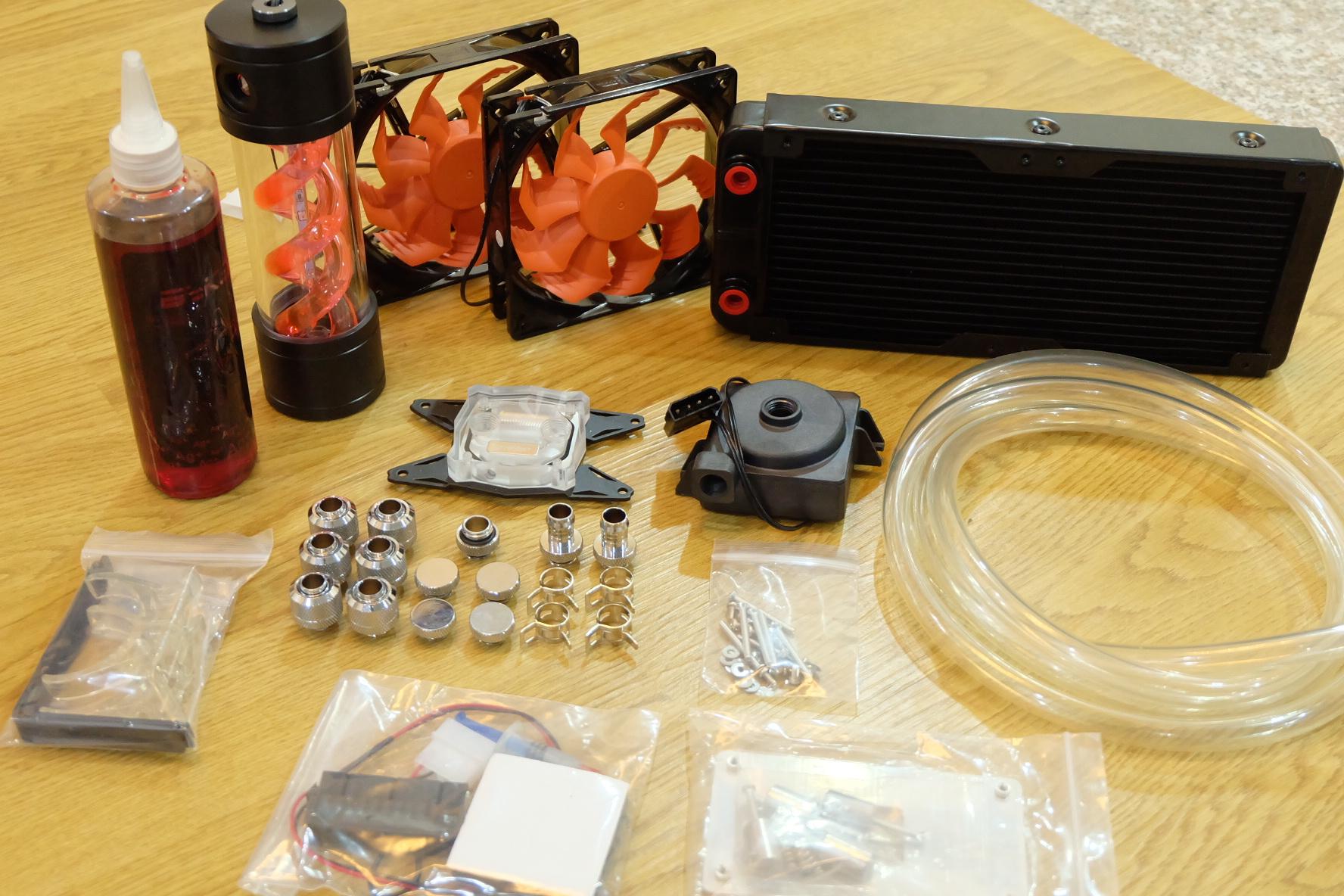 Set CPU Water cooling หม้อน้ำ 2 ตอน [AMD]