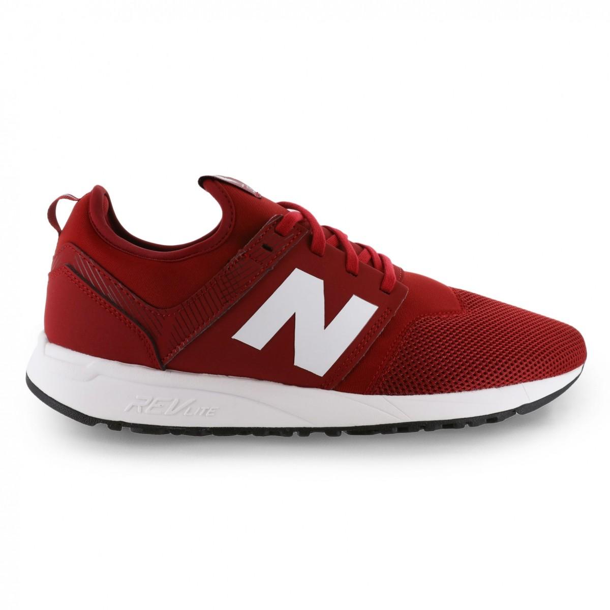 รองเท้านิวบาลานซ์ลิเวอร์พูล 2018 2019 รองเท้าเทรนเนอร์นิวบาลานซ์ 247 สีแดงของแท้