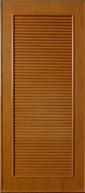 ประตูพีวีซี CHAMP P5 ลายไม้ 70x180