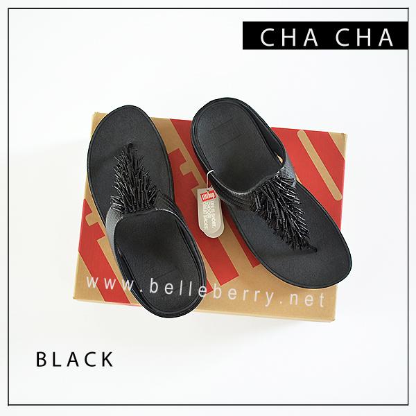 FitFlop Cha Cha : Black : Size US 6 / EU 37