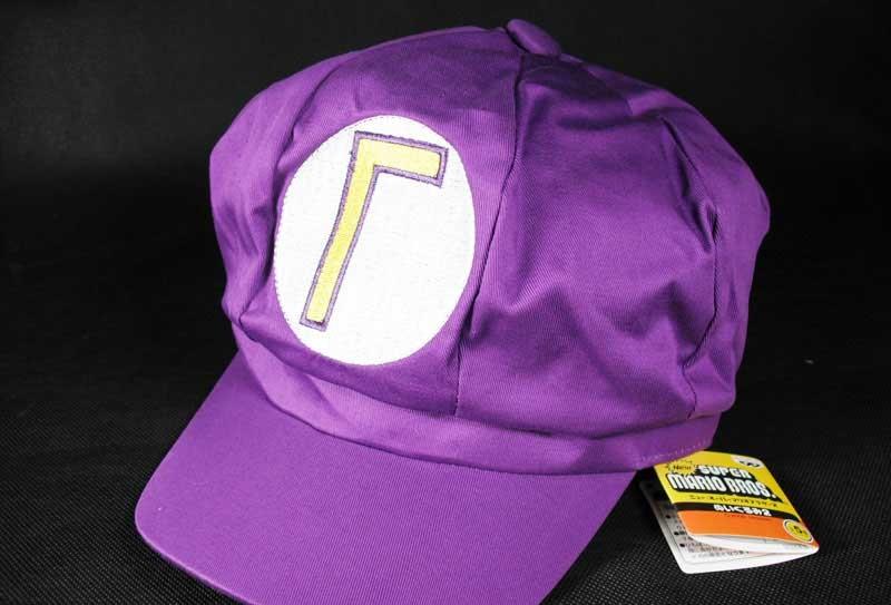 หมวกมาริโอ้ Waluigi (สีม่วง)