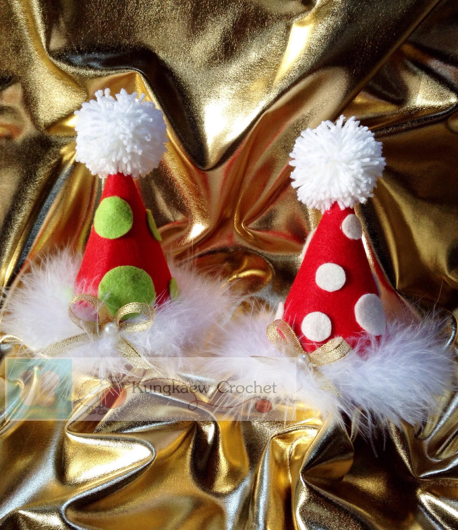 กิ๊ฟ,ที่คาดผมหมวกคริสมาส