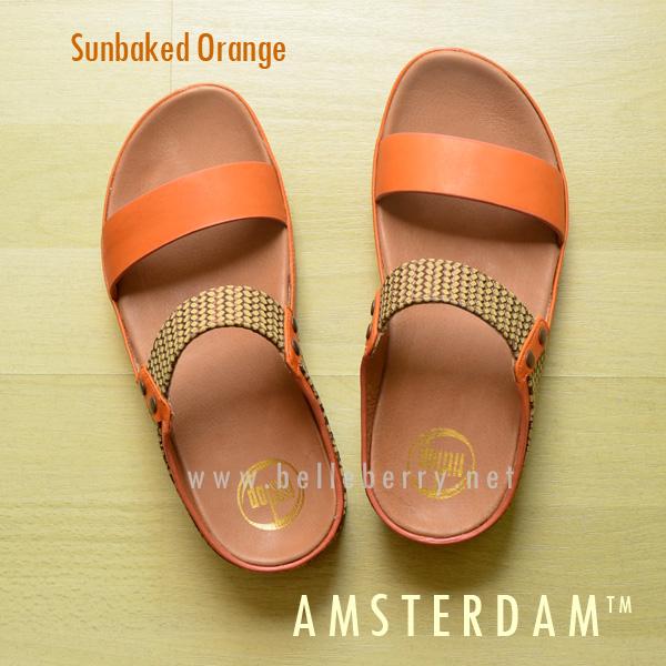 **พร้อมส่ง** FitFlop AMSTERDAM : Sunbaked Orange : Size US 6 / EU 37