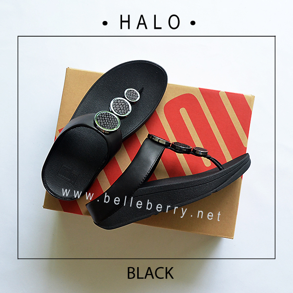 FitFlop : HALO : Black : Size US 9 / EU 41
