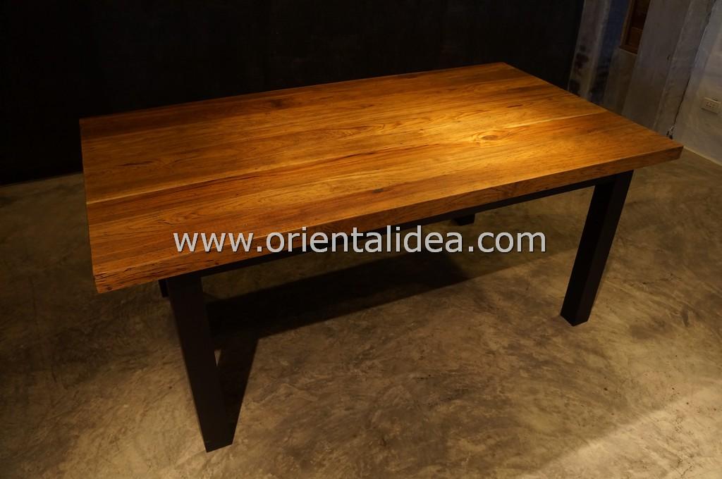 โต๊ะอาหารไม้สัก TBG-114