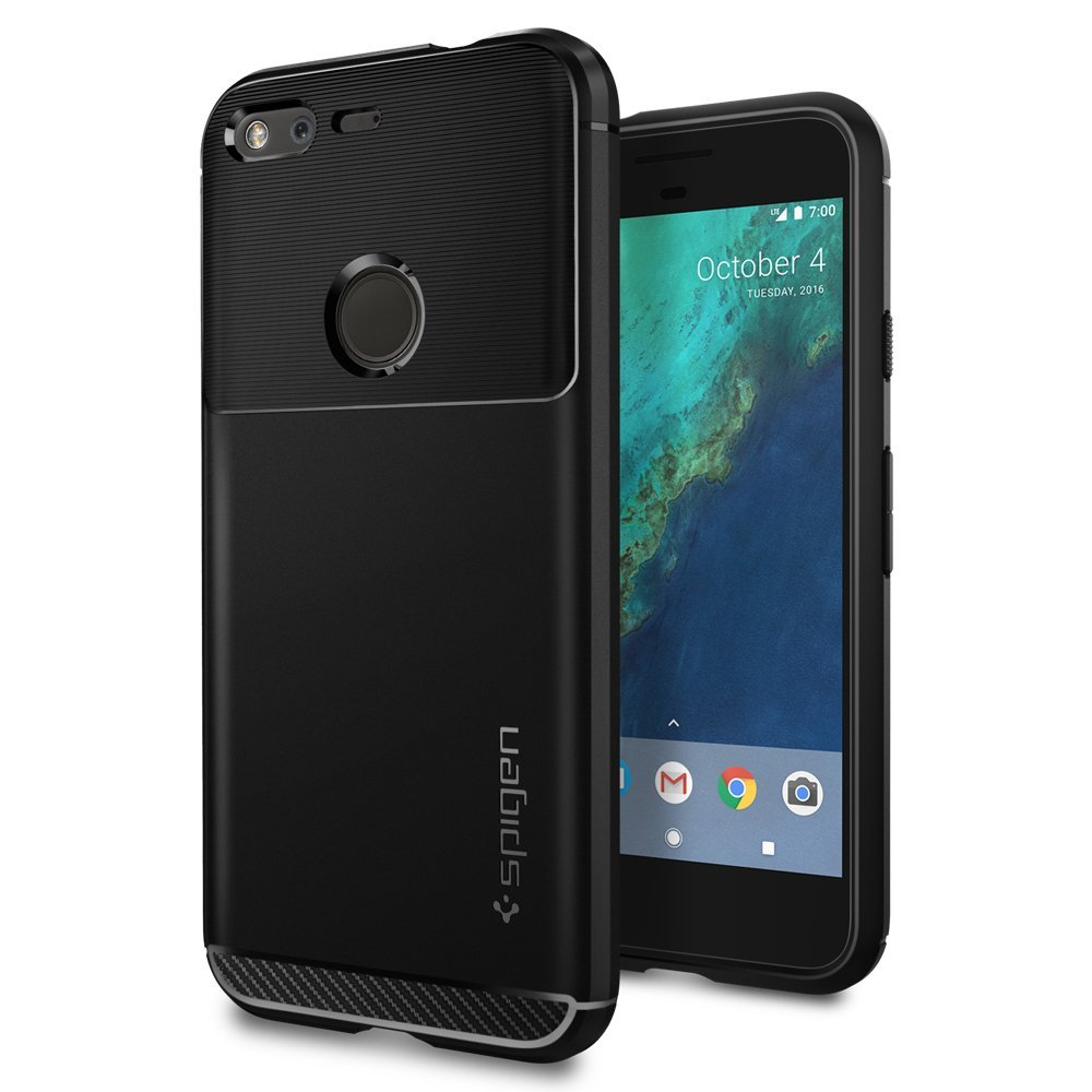 Spigen Rugged Armor Case for Google Pixel