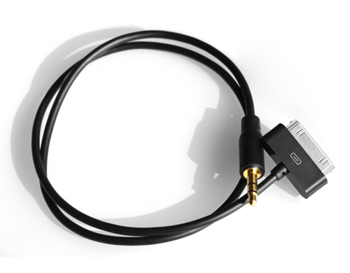 FiiO L10 สาย Dock to mini (AUX) สำหรับ iPod/iPad/iPhone [ยาว 50 CM]
