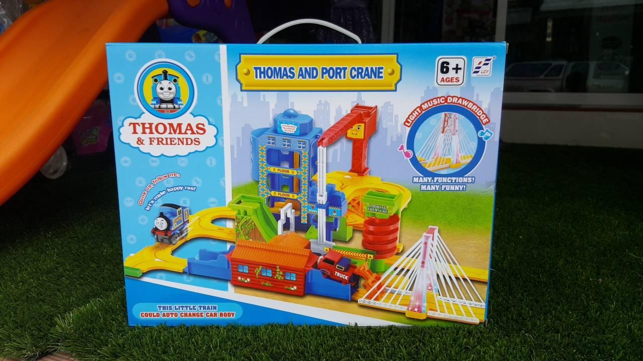 รถไฟ Thomas and port crane ส่งฟรี พัสดุไปรษณีย์