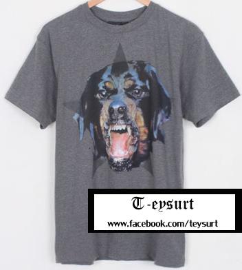 เสื้อGivenchy RottweilerCotton-Print BestMirror