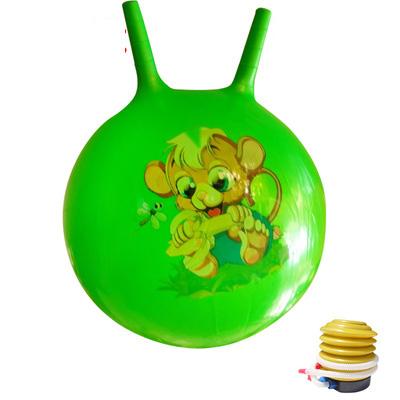 (พร้อมส่ง) YK1062-4 ลูกบอลเด้งดึ๋ง แบบหูจับกระต่าย ขนาด 65/45 CM