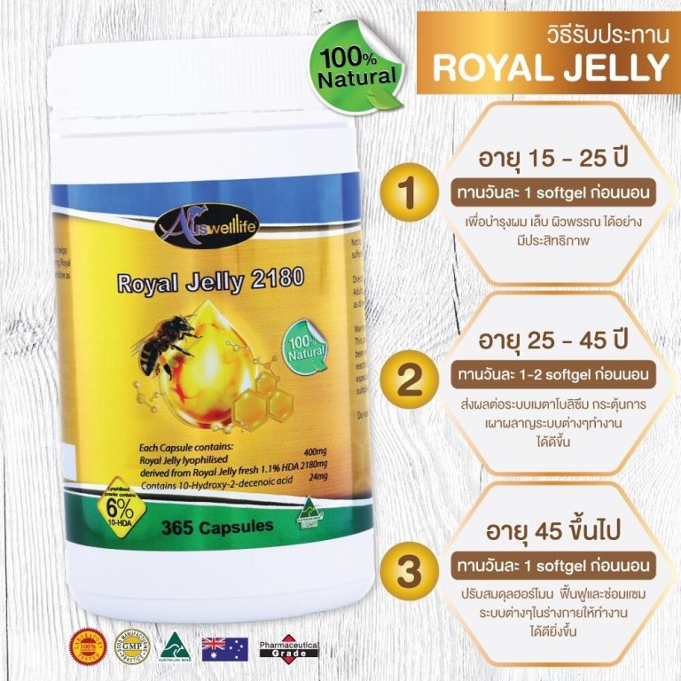 นมผึ้ง Royal Jelly