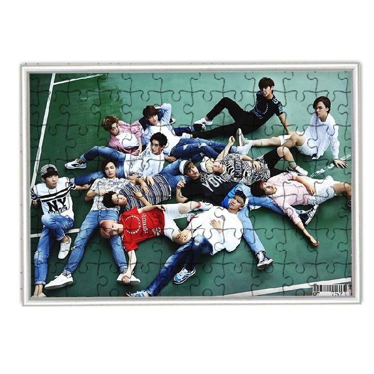 จิ๊กซอว์+กรอบ Seventeen