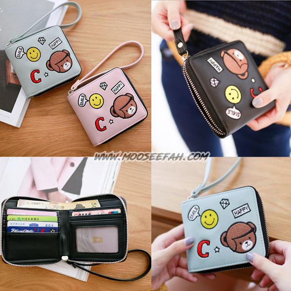 กระเป๋าสตางค์ C-Bear [แบบซิปรอบ]