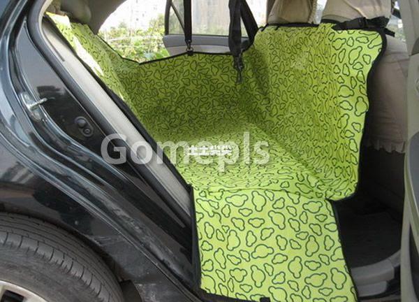 F98Pet Dog Cat Rear Back Seat Car Auto Waterproof Hammock B