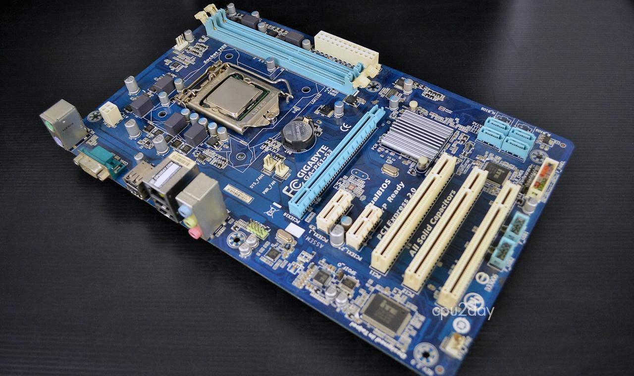 [MB 1155] Gigabyte GA-P61-S3 + เพลตหลัง