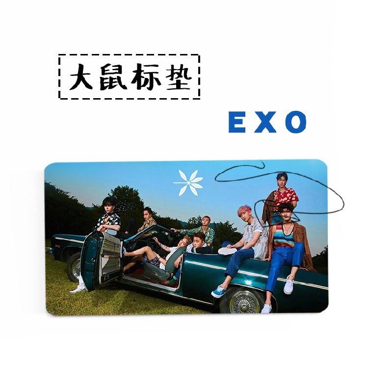 แผ่นรองเม้าส์ แผ่นใหญ่ EXO