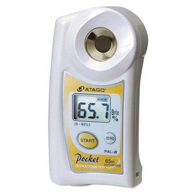 เครื่องทดสอบความหวาน (Brix refractrometer) รุ่น PAL-Alpha, 0-85%