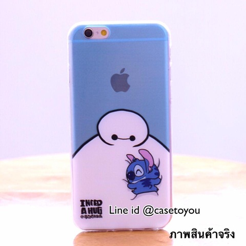 Ultra thin Baymax Stitch iPhone 5/5S/SE