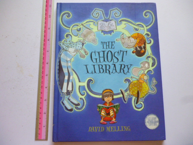 The Ghost Library (Glow in-the-Dark Cover)
