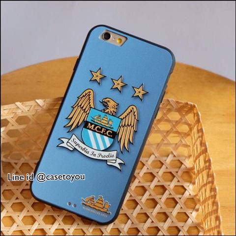 เคสฟุตบอลทีม Manchester City iPhone 6 Plus/ 6S Plus
