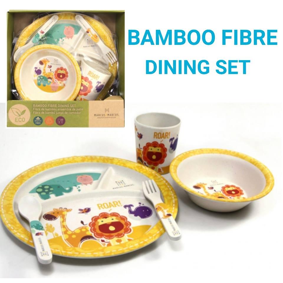 BAMBOO FIBRE DINING SET