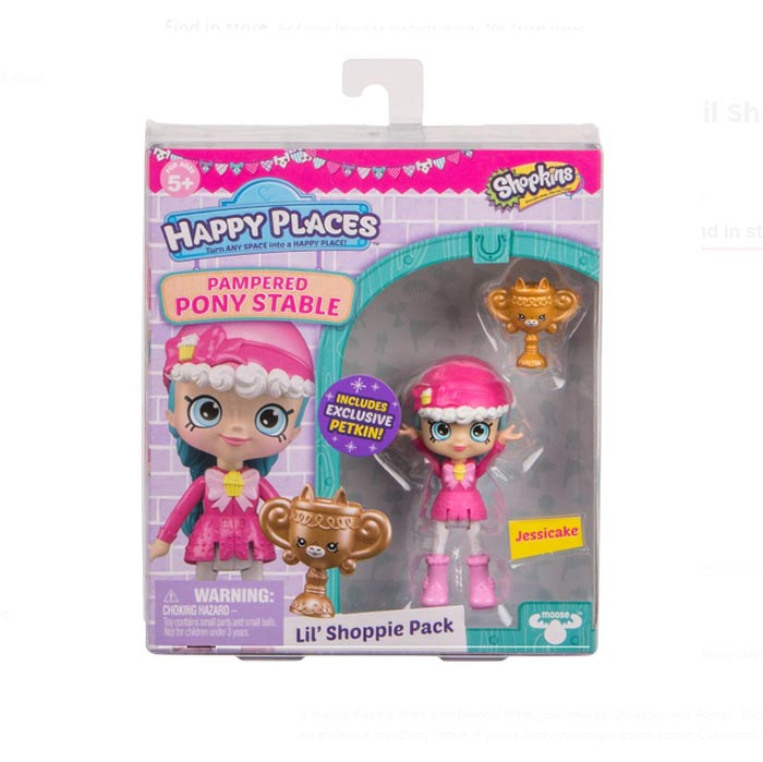 PR006 (Pre order) Shopkins Happy Places