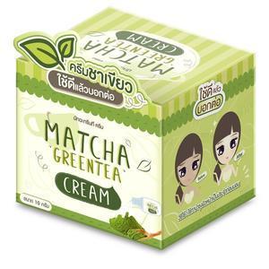 ครีมชาเขียวมัทฉะ Matcha Green Tea Cream ราคาส่ง
