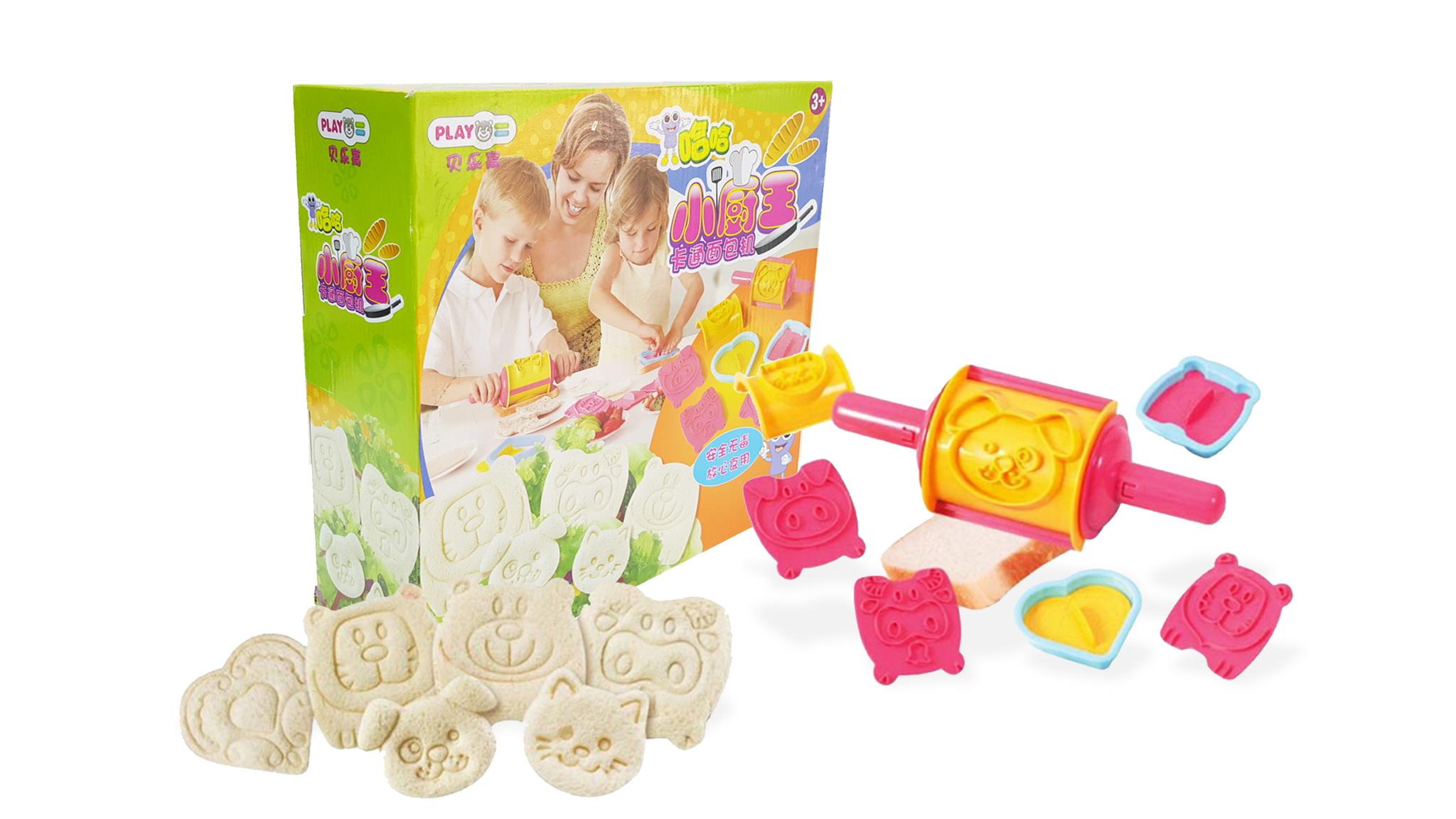J010 ของเล่นนำเข้า ของเล่นญี่ปุ่น fun cooking แซนวิชรูปสัตว์ (ทำได้จริง)