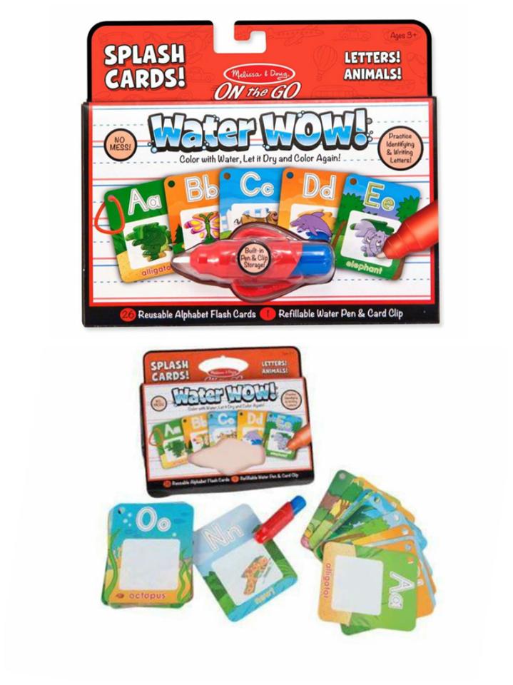 Water Wow Splash Card: Alphabets