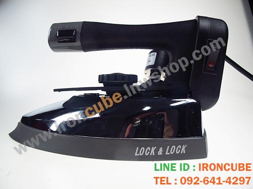 เตารีดไอน้ำถังน้ำเกลือ งานเกาหลี ยี่ห้อ LOCK&LOCK รุ่น ICLK-300L