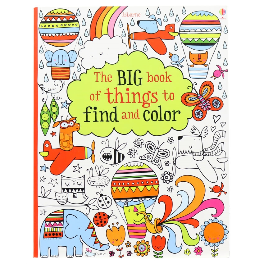 The Big Book of Thinks to Find and Colour