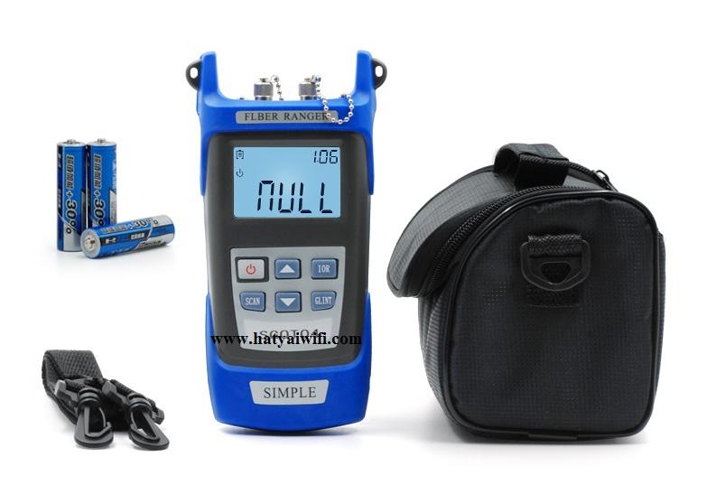 OTDR อุปกรณ์ตรวจสอบ วัดระยะสายไฟเบอร์ออฟติก