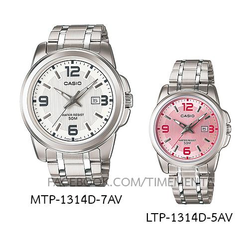 Casio MTP-1314D-7AV+LTP-1314D-5AV