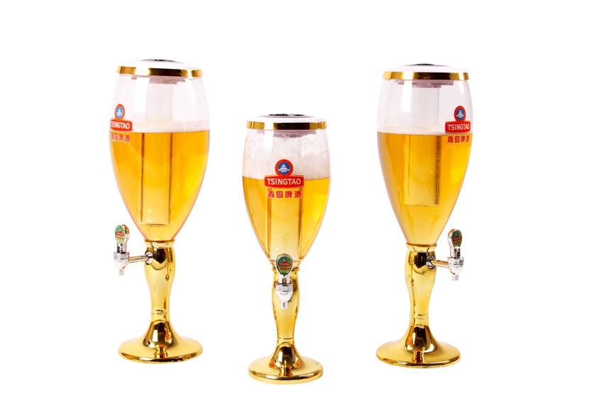 ทาวเวอร์เบียร์ แกนน้ำแข็งไฟ PM401 Golds/Silver