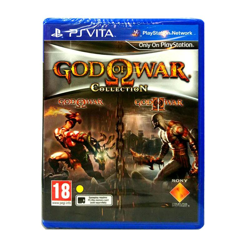 PS Vita™ God of War Collection 【ก๊อดออฟวอร์】 Zone 2 EU / English